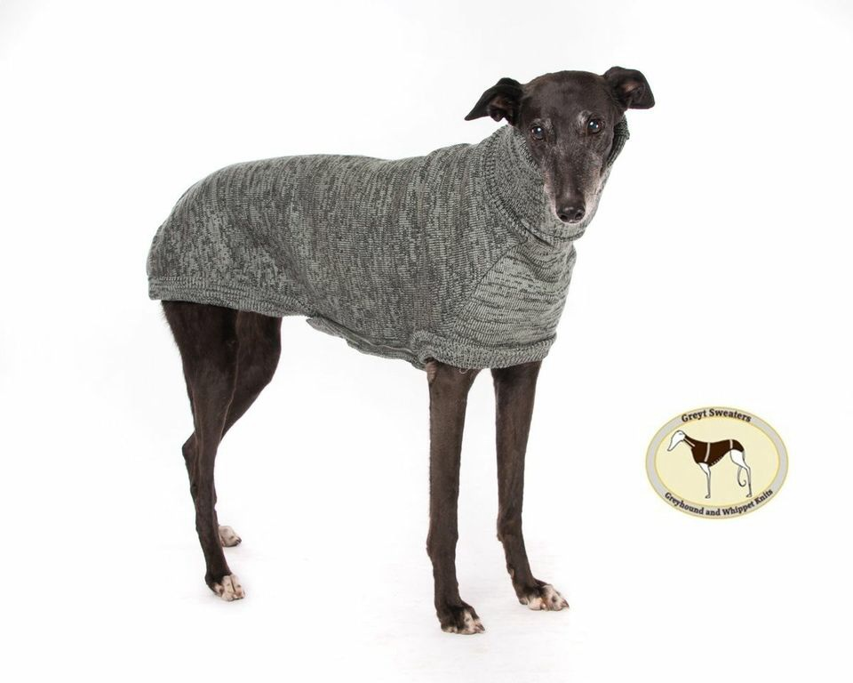 Brindle Sweater: Charcoal Grey/Silver Grey