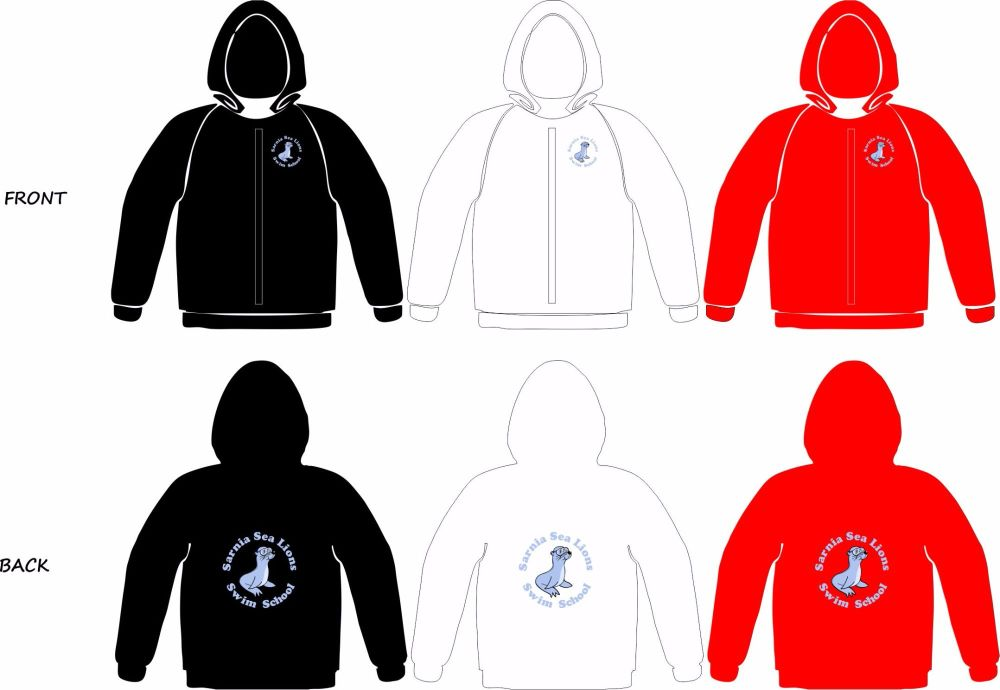 Sarnia Sea Lions Full Zip Sweatshirt