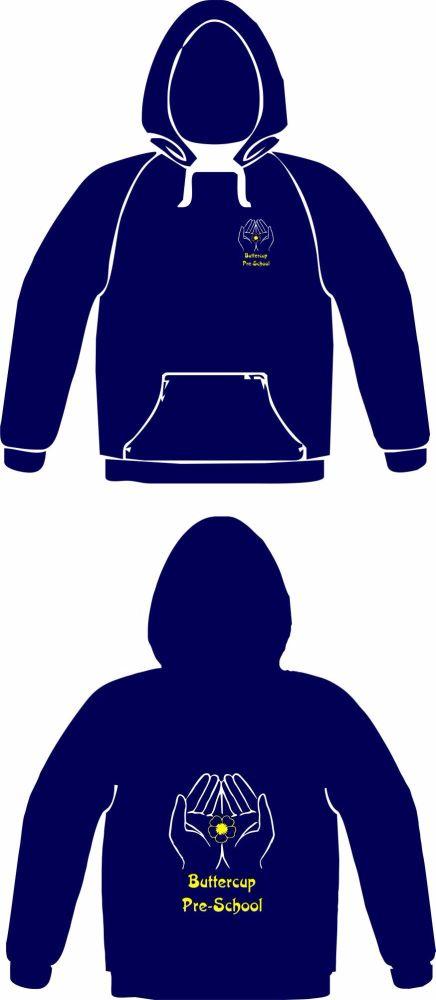 Buttercup Pre-School Hooded Sweatshirt