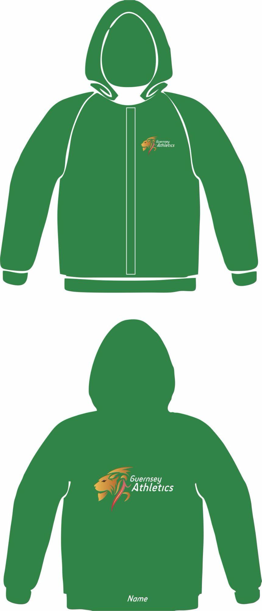 Club Zoodie Green (Full Zip)