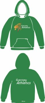 Men's Club Hooded Sweat Green (No Zip)