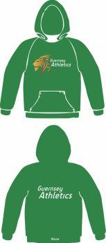 Women's Club Hooded Sweat Green (No Zip)