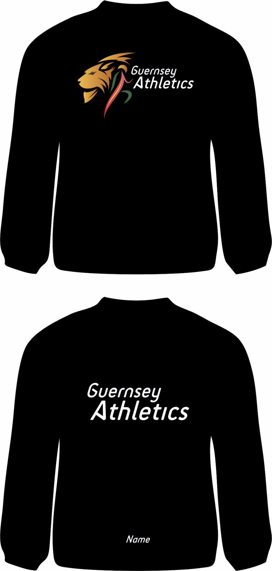 Ladies Long Sleeve TECH Tee Black