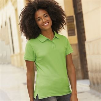 b. Women's Cotton Polo Shirt