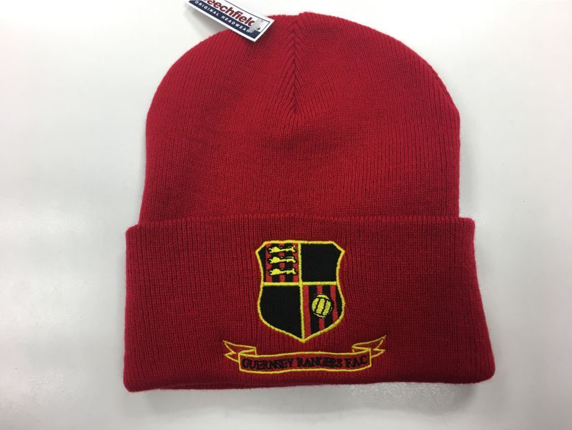 Beanie Hat Red Adult