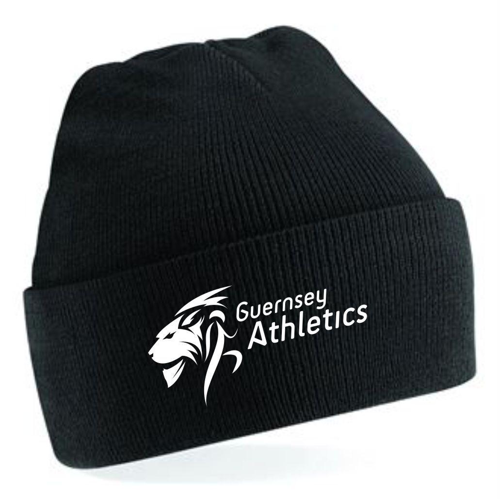 Guernsey Athletics Beanie Black