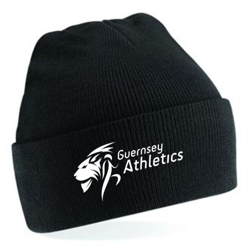 Guernsey Athletics Beanie Black