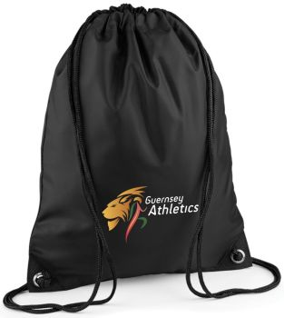 b. Guernsey Athletics Gym Sac Black