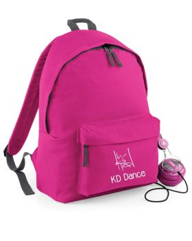 KD Dance Backpack Fuchsia