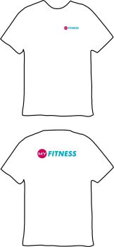 My Fitness Sports Breathable T-Shirt White
