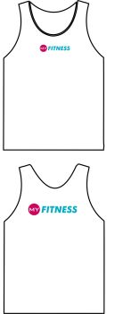 My Fitness Sports Breathable Vest White