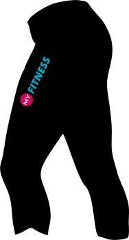 My Fitness 3 Qtr Ladies Legging