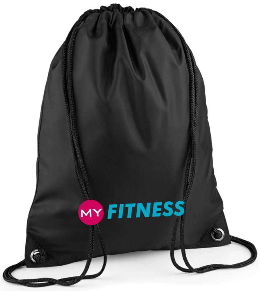 My Fitness Drawstring Bag
