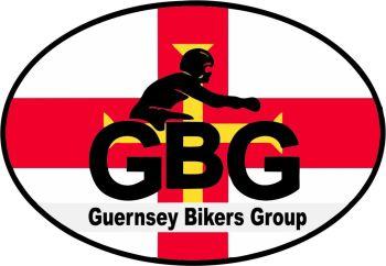 Guernsey Bikers Group Motor Bike Sticker