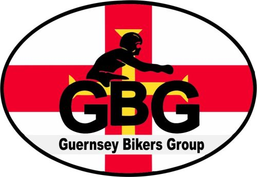 Guernsey Bikers Group Car Bike Sticker