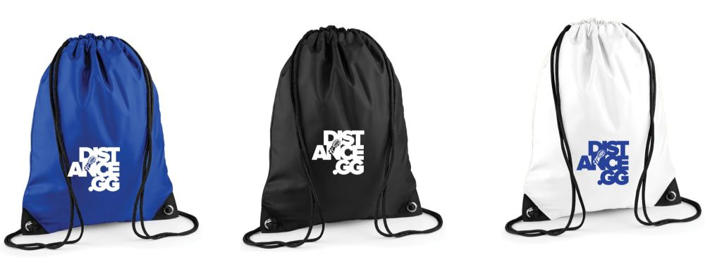 Distance.GG Drawstring Bag