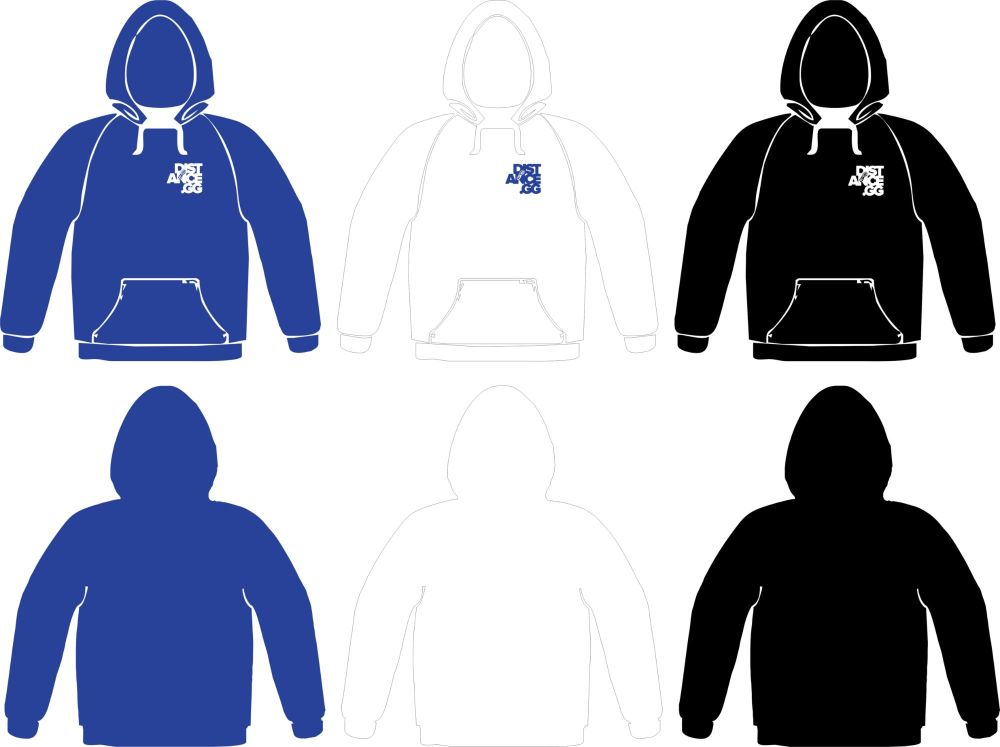 Distance.GG Hooded Sweatshirt Mens
