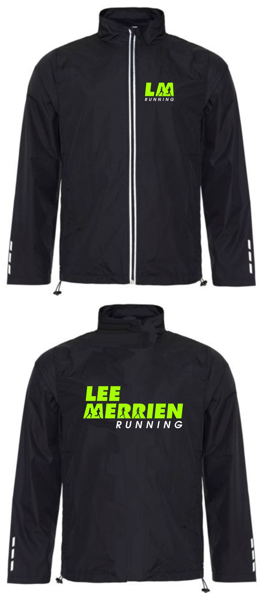 Lee Merrien Running Lightweight Showerproof Jacket (Unisex)
