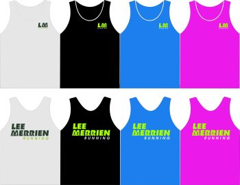 Lee Merrien Running Technical Vest