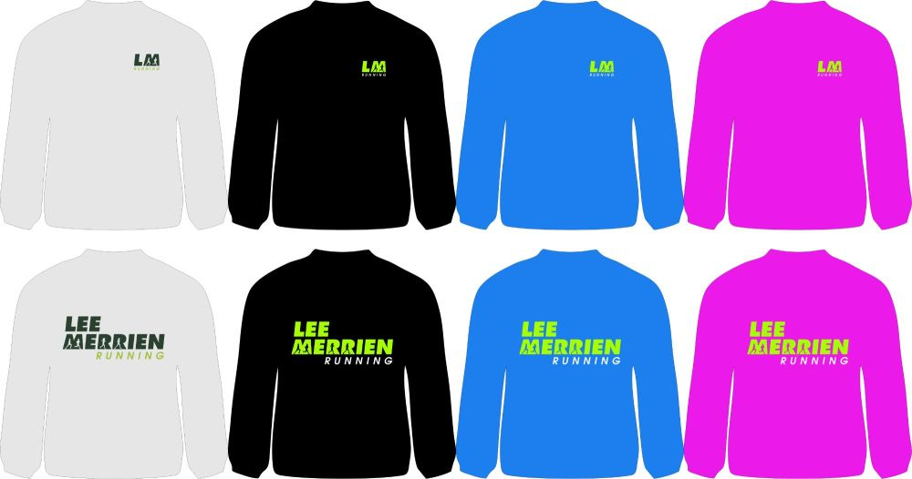 Lee Merrien Running Technical Long Sleeve T-Shirt Adults