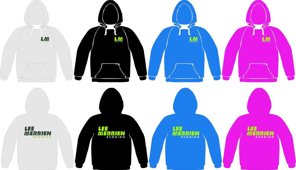 Lee Merrien Running Cotton Hoodie Adults