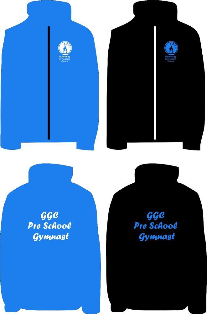 Guernsey Gymnastics Pre School Gymnast Wind Cheater