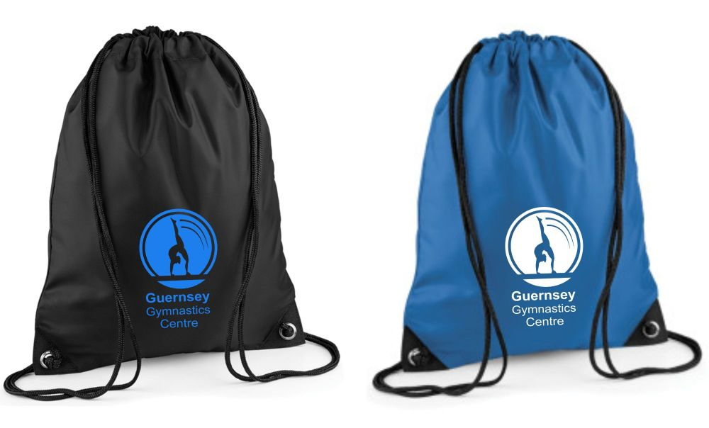 Guernsey Gymnastics Drawstring Bag