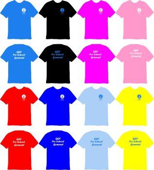 Guernsey Gymnastics Pre School Gymnast Cotton T-Shirt