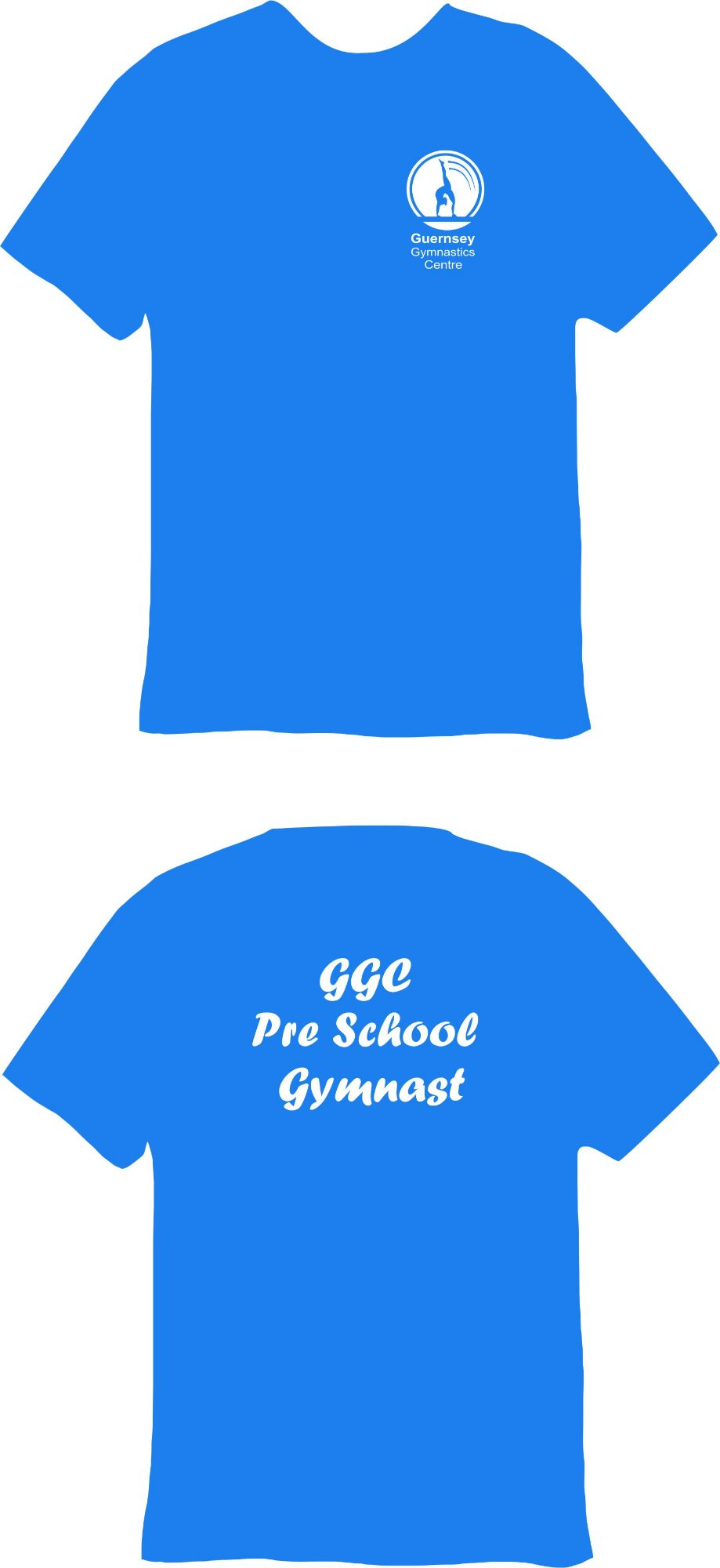 Guernsey Gymnastics Pres School Gymnast Technical T-Shirt