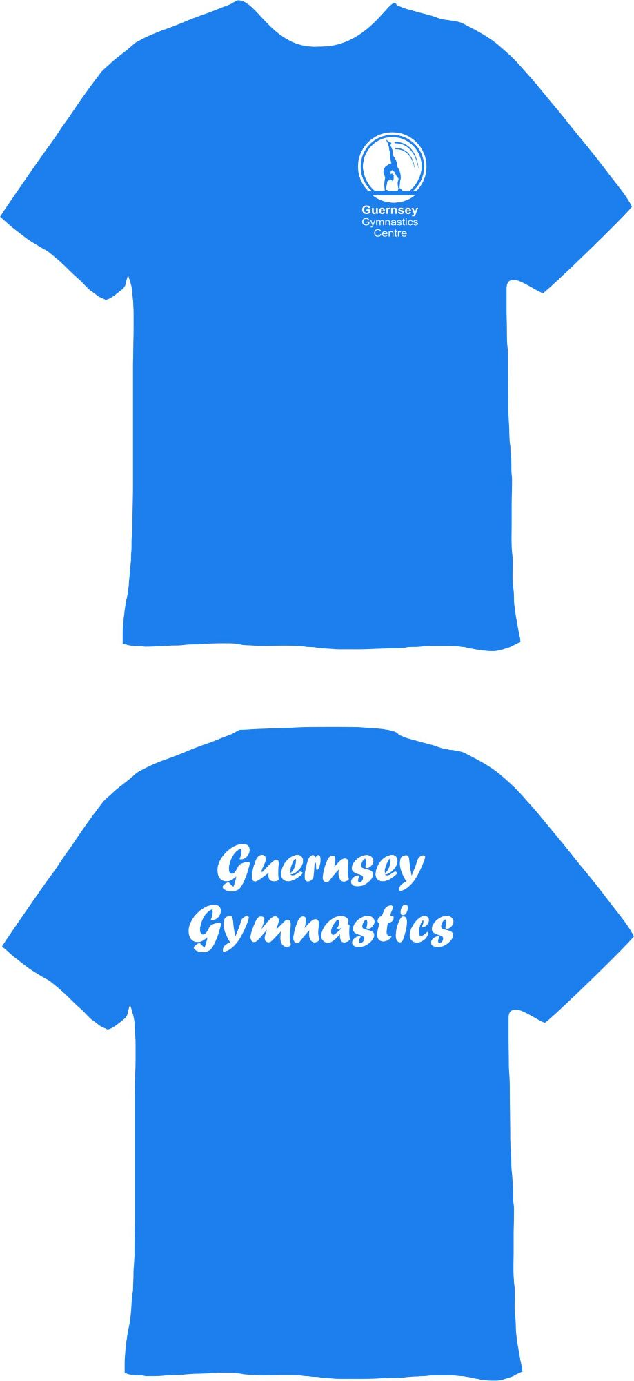 Guernsey Gymnastics Recreational Cotton T-Shirt