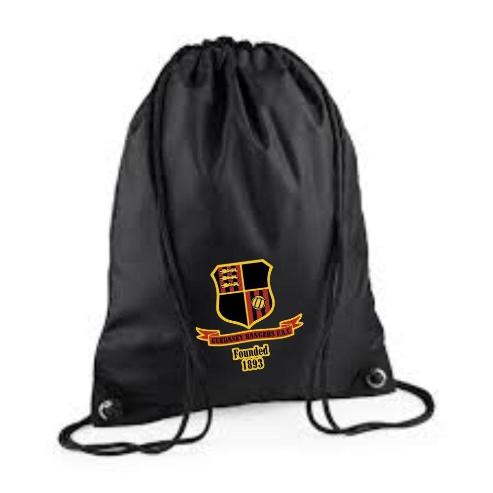 Rangers FC Drawstring Bag Blk