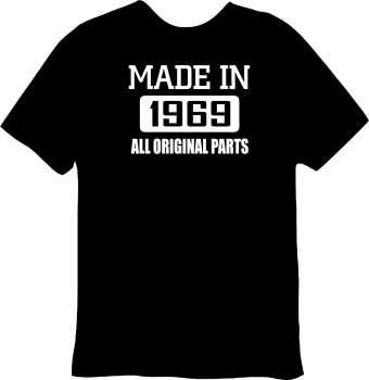 Made In 1969 Tee