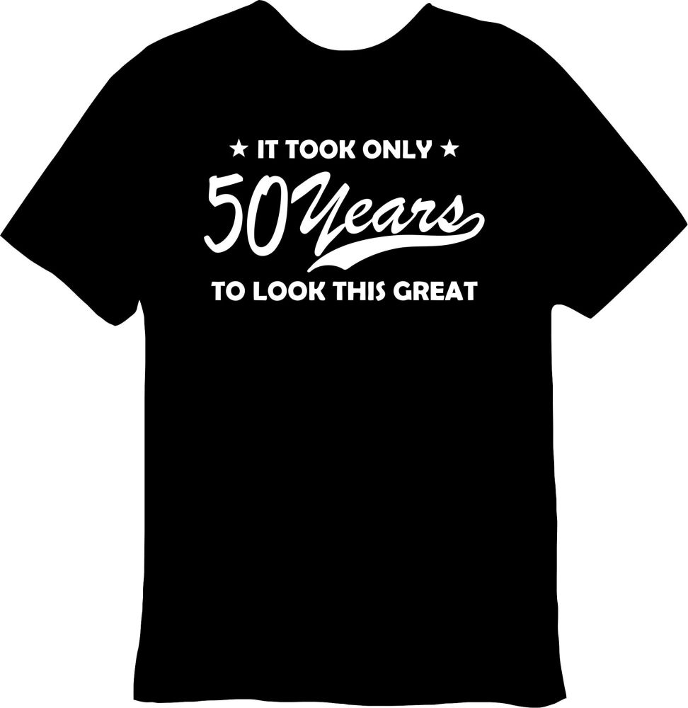 It Took Only 50 Years Tee