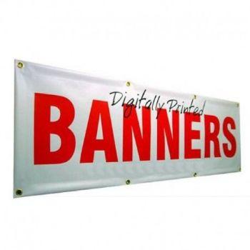 Custom Size Banners (Inc Eyelets)
