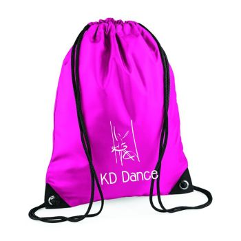 KD Dance Drawstring Bag