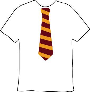 Potter Tie Tee