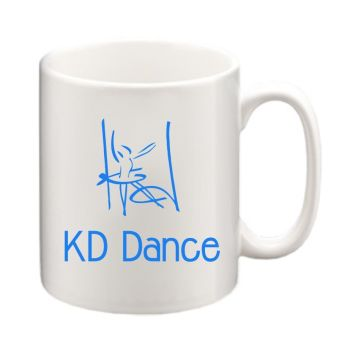 KD Dance Ceramic Coffee Mug