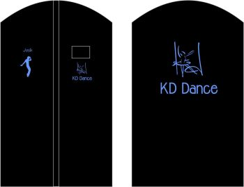 KD Dance Suit Cover Tap Dancer
