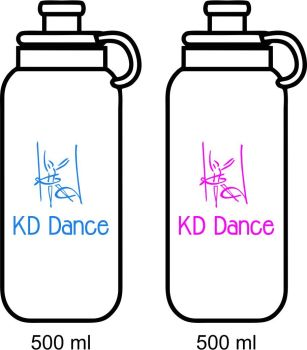 KD Dance Water Bottle