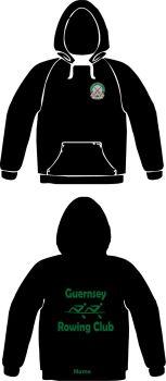 Guernsey Rowing Club Hoodie Black