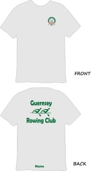 Guernsey Rowing Club Sports Technical T-Shirt Grey