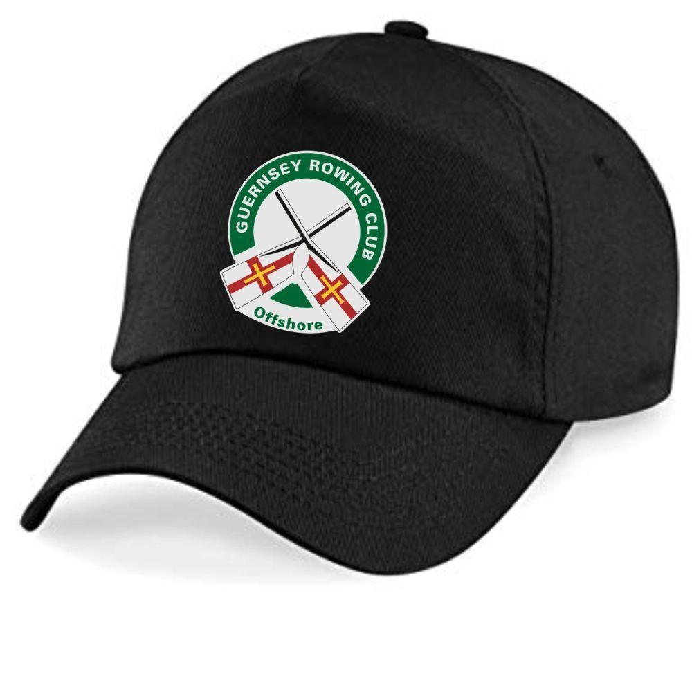 Guernsey Rowing Club Cap Black