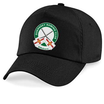 Guernsey Rowing Club Cap Black