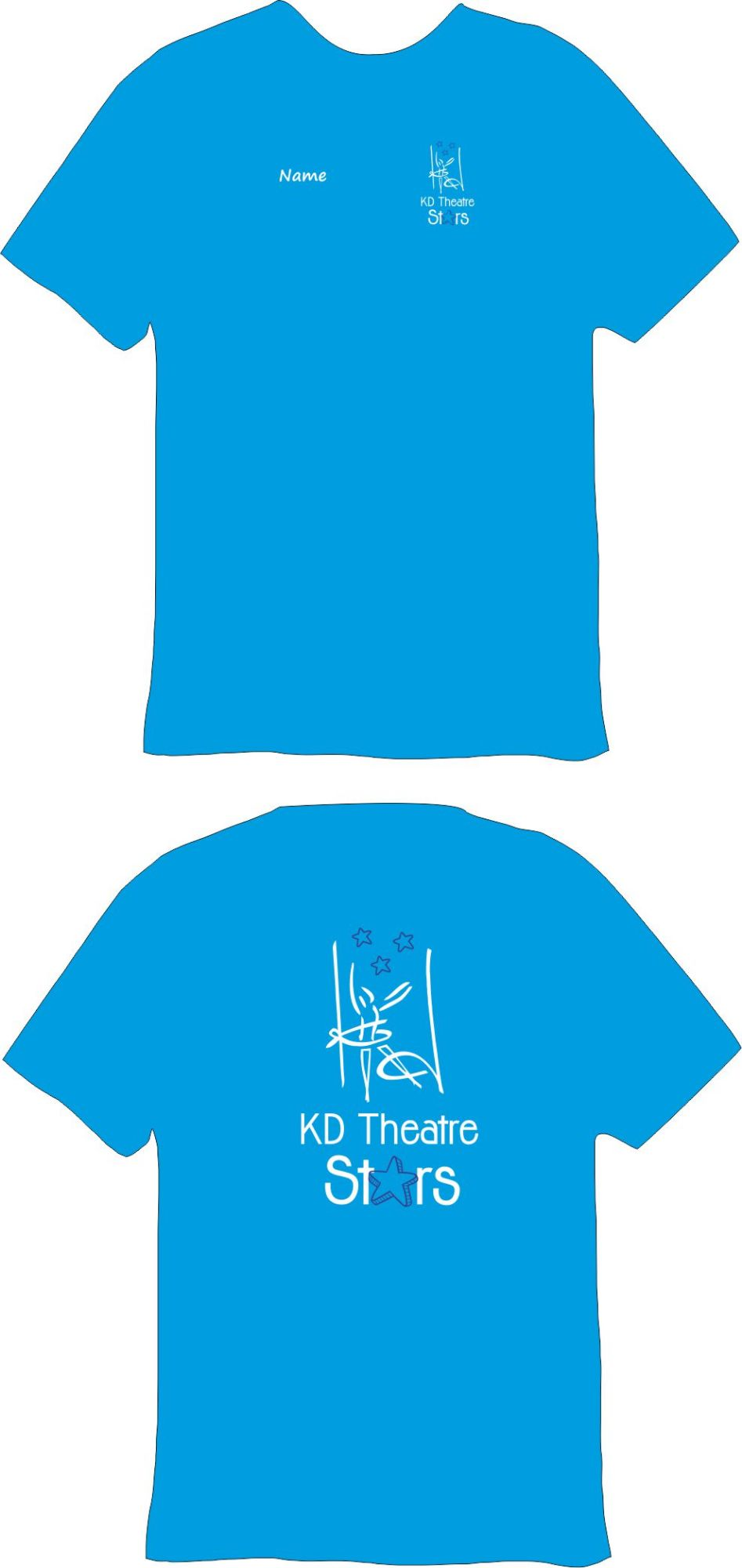 KD Theatre Stars Cotton T-Shirt