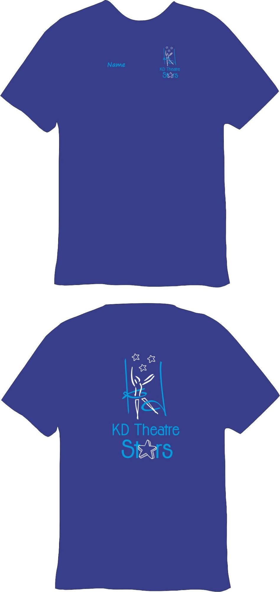KD Theatre Stars Technical T-Shirt