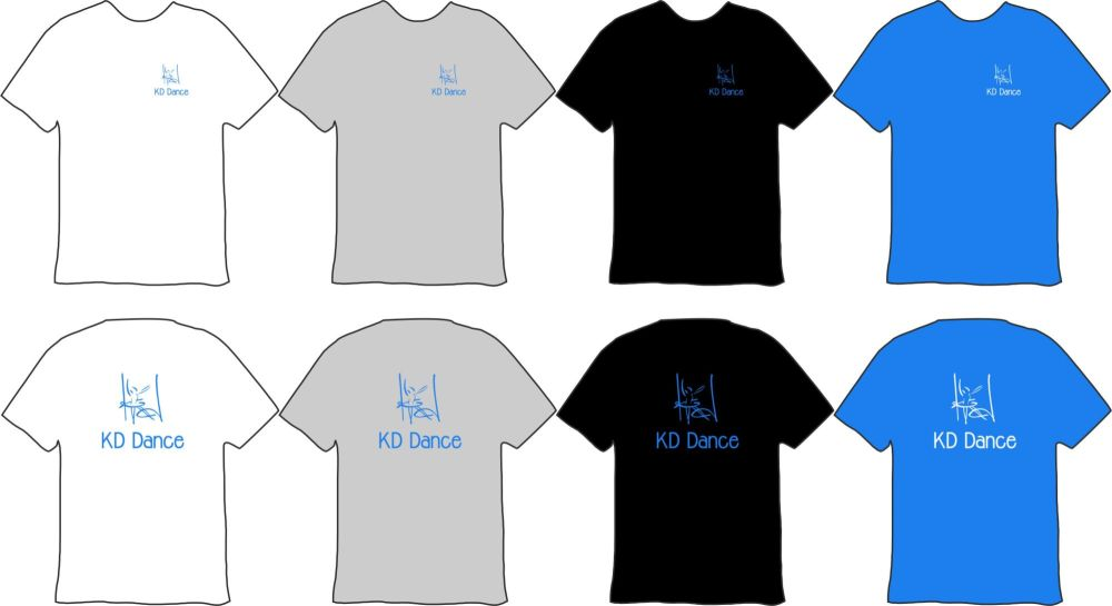 KD Dance Cotton T-shirt D1