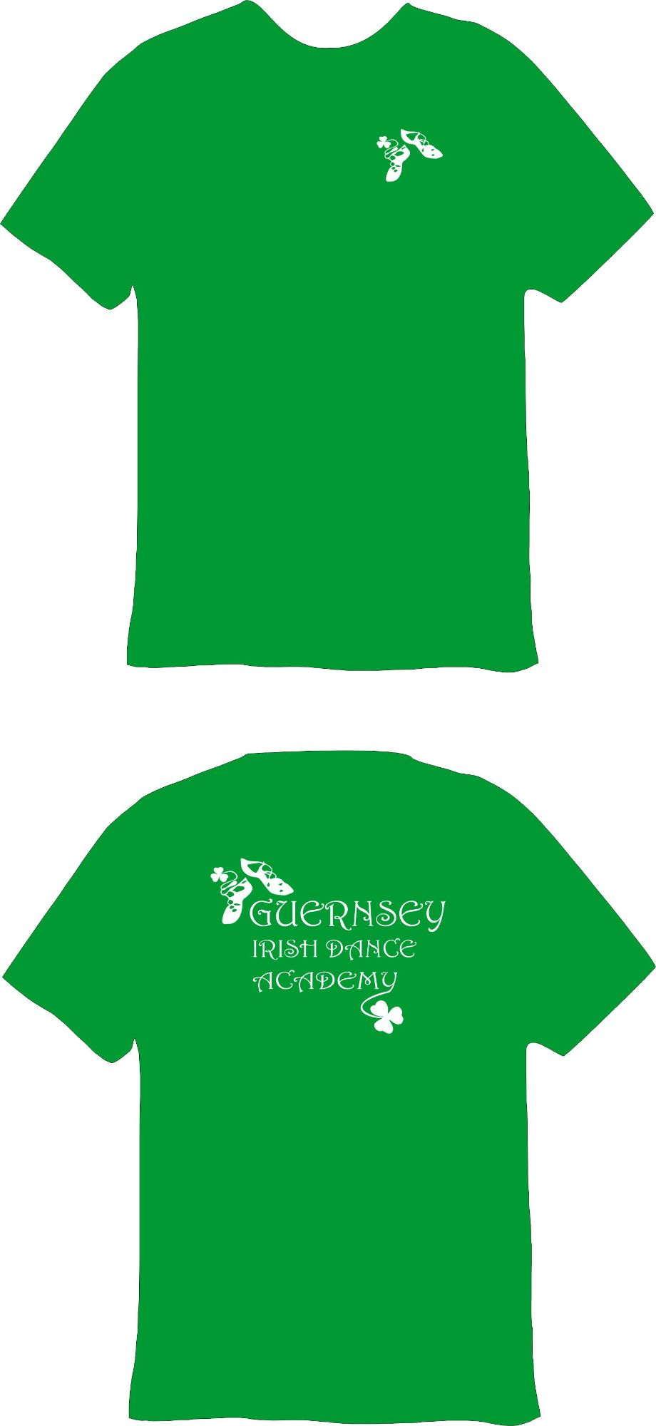 Guernsey Irish Dance Academy Technical T-Shirt