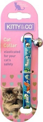 Rubber Cartoon  Collar In Blue