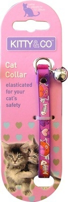 Rubber Cartoon  Collar In Pink