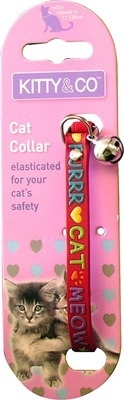 Purr  Collar In Red